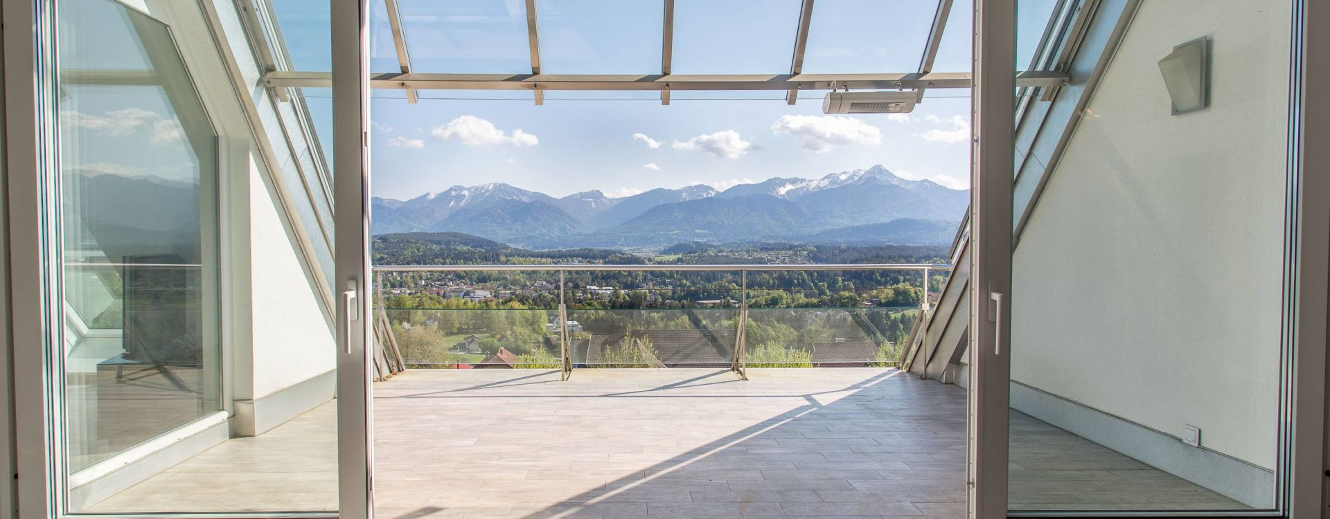 Penthouse mit Seeblick in Velden am Wörthersee