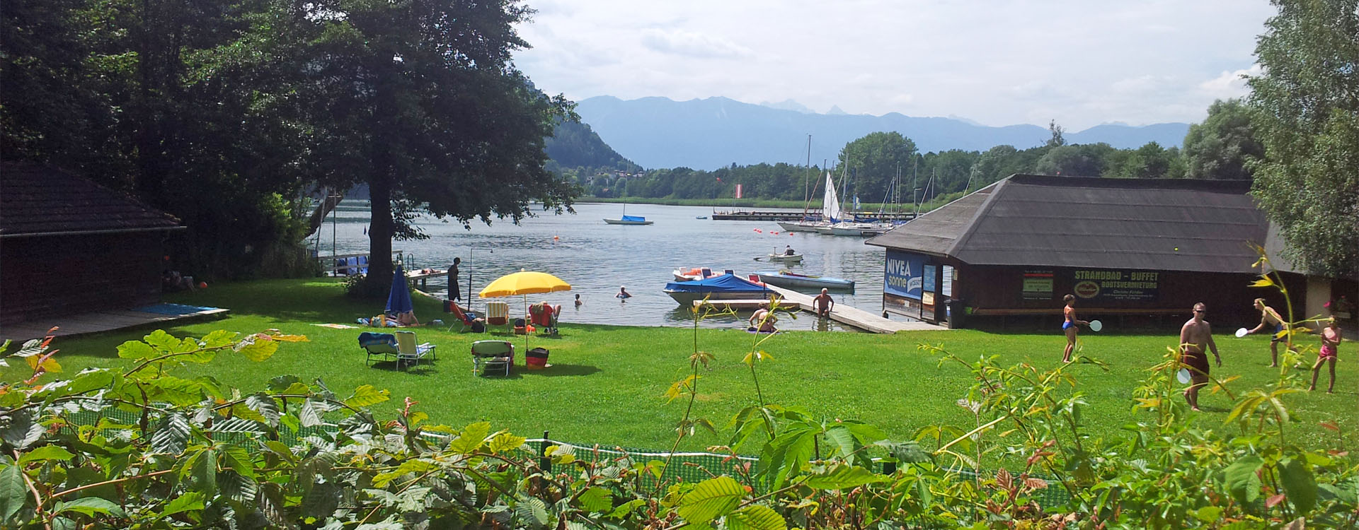 Wohnung mit Seezugang am Ossiacher See
