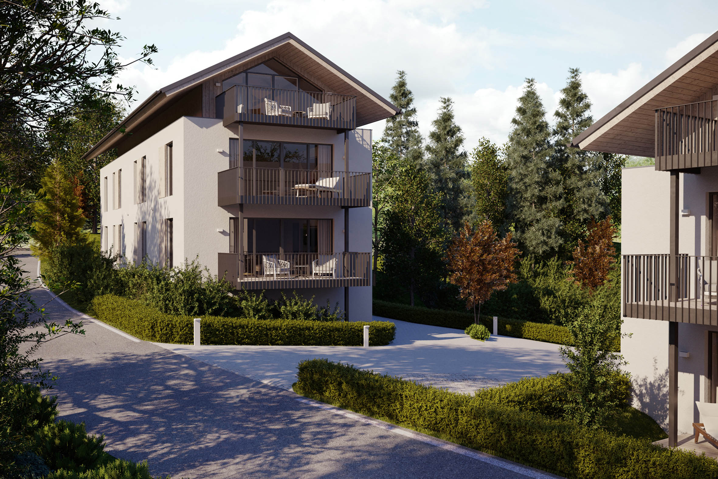 """HIMMELBLAU"" – 10 new apartments in a quiet central location"
